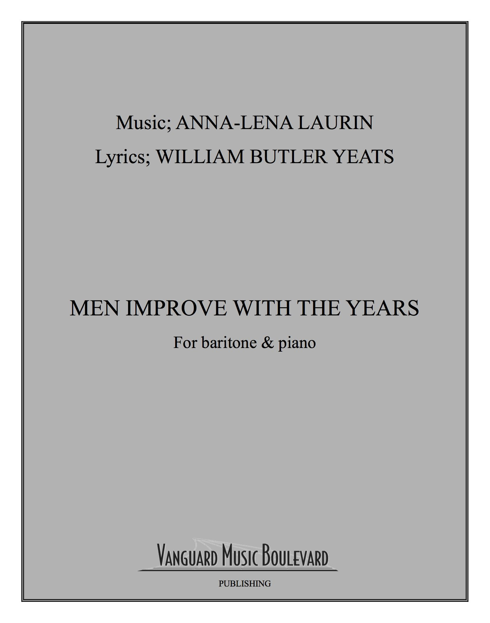 Men improve with the years