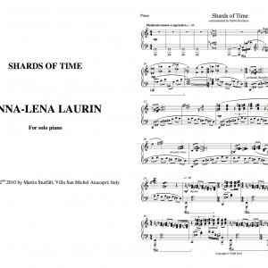 Shards of time for solo piano
