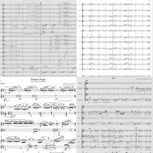 Sheet Music, Scores & Parts